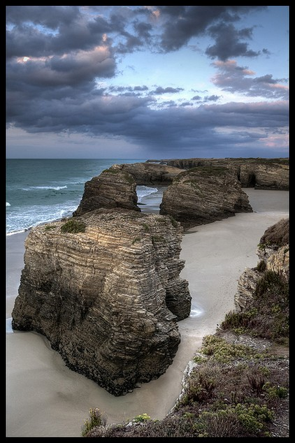 playa das catedrales